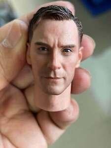 1/6 Estonian Division Head Sculpt PVC Model Fit 12'' Muscle Action Figure Body