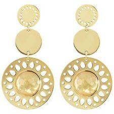 With Nacre Italian Design 261173 2Jewels Women's Earrings Steel Pvd Gold