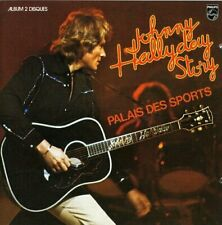 2 CD Johnny Hallyday Story  Palais  des Sports 76 Live Neuf sous cellophane