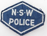 .SCARCE / OBSOLETE NSW POLICE SHOULDER PATCH.