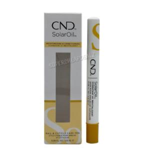 CND Solar Oil - 0.5oz   2.3oz   4.0oz   Pen 0.08oz   0.125oz x 40 Pack AUTHENTIC