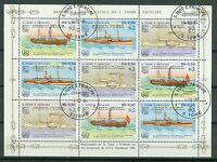 Sao Tome und Principe Kleinbogen 906 - 908 , o ,