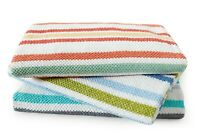 Stripe Egyptian Cotton Towel Sets 620GSM Bath Hand Towel Sheet Face Washer Mat