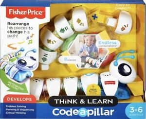 Fisher-Price Think & Learn Code-a-pillar Twist, Preschool Toy GFP23 NEW