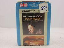 Alicia de Larrocha Mostly Mozart 8-Track Stereo Tape Cassette *SEALED*