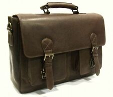 Leather Briefcase Satchel style
