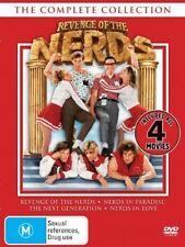 REVENGE OF THE NERDS Movies 1 2 3 4 : NEW DVD