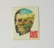 VECCHIO ADESIVO / Old Sticker TRATTORI SAME (cm 5 x 6,5)