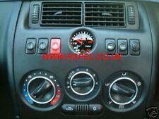 52 mm VISO Affumicato Turbo Boost Gauge KIT BAR-FIAT COUPE 16 V 20 V-Orologio sostituisce