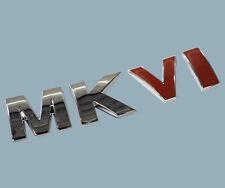 Rear MKVI Trunk Badge emblem RARE CHROME RED for VW Golf Jetta 2011 - 2012 MK6