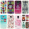 Samsung Galaxy Handy Schutz Hülle Etui Case Cover Motiv Design + Folie