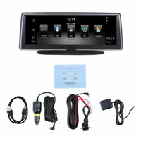 "8"" Android Car Dash Cam 3G WiFi IPS GPS Dual Lens 1080P HD DVR Camera Recorder"