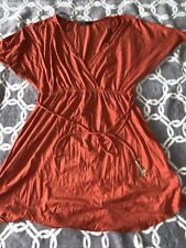 Anthropologie Potters Pot Dress Women's M Pullover V Neck