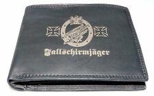 Fallschirmjäger Leder Geld Börse Deutsches Reich 2 1 WK Wehrmacht Uniform Foto