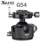 XILETU G-54 360 Degree Heavy Duty Double Panoramic Tripod Ball Head w/ QR Plate