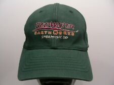 RED WATER EARTHWORKS - SPEARFISH, SD - S/M SIZE STRETCH FIT BALL CAP HAT!
