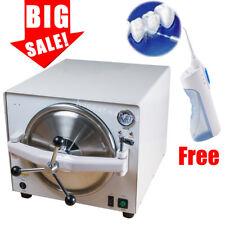 18L Medical Steam Sterilizer Autoclave Dental Disinfection Sterilization +Gift S