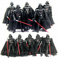 New Lot 10pcs Star Wars 2005 Darth Vader Revenge Of The Sith ROTS Figure Boy Toy