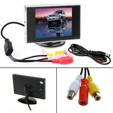 "3.5"" LCD TFT Color Screen Car Monitor DVD DVR for Car Rear View Backup Camera"