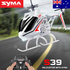 Official Syma 3.5CH S39 RC Helicopter Remote Control Gyro 2.4G Upgraded Aircraft