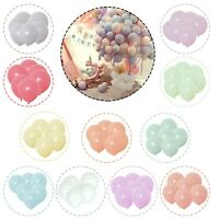 "20 X Latex 10"" Pastel BALLOONS BALLONS helium BALOONS Birthday Wedding Candy UK"