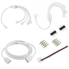 Verteiler Verbinder Adapter Kabel 4 Pin LED Schnellverbinder Stecker RGB Strip