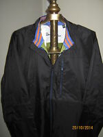"Robert Graham ""VOLAS"" Men's Windbreaker MEDIUM (NWT) Black / Full Zip"