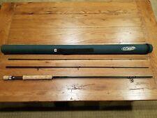 St. Croix Legend Ultra Uft9010 9' 10 weight 3 piece fly fishing rod & case.