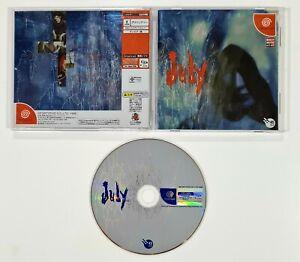 SEGA Dreamcast Visual Novel JULY jap. Adventure/Cinematic Suspense/Rollenspiel