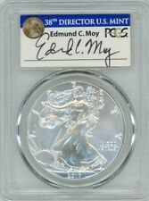 2017 $1 Silver Eagle 225th Anniversary First Strike MS70 PCGS Ed Moy 1 of 1433