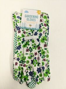NEW Childrens Garden Gloves Multiple Colors Gardening Kids Hands NWT Flowers