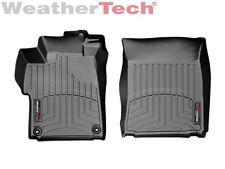 WeatherTech FloorLiner for Honda Civic Coupe - 2014-2015 - 1st Row - Black