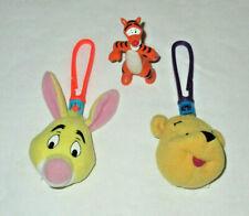 Winnie The Pooh & Rabbit Key Chains & Tigger Figure