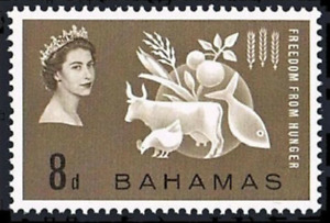 Bahamas - 1963 - Sc 180 -  Freedom From Hungar MH