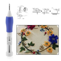 DIY Sewing Stitching Punch Needle Set Punching Newest Embroidery Craft Tool+%