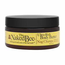 The Naked Bee Nag Champa Ultra-Rich Body Butter 8.0 oz Brand New