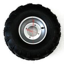 2 PCS Front Tyres 19x7-8 ATV GO KART QUAD + 4 holes Rims 110mm hole distance