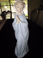 "LOVELY LLADRO PRAYING NUN"" NAO DAISA FIGURINE, 11"" H,  PERFECT CONDITION."