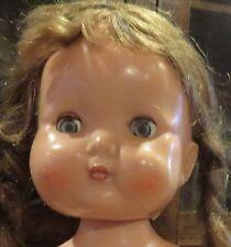 "Vintage 11 1/2"" C1950 English Hard Plastic Roddy Walking Doll"