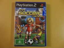City Soccer Challenge Sony PlayStation 2 PS2 PAL Factory Sealed Complete