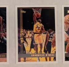 1997-98 Topps Shaquille O'Neal Los Angeles Lakers Card
