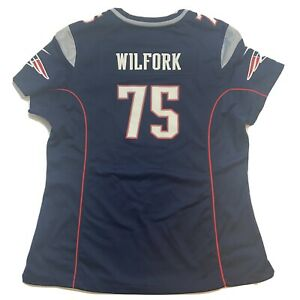 NFL New England Patriots Vince Wilfork 75 Football Jersey Women XXL Nike