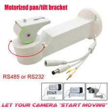 Motorized Rotation Pan Tilt Bracket Electric Mount Stand RS485 RS232 Camera DVR