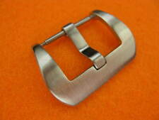 22mm PRE-V Round Spring Bar Brush Swiss Stainless BUCKLE made for PANERAI 22