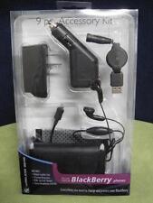 Wireless Gear for Blackberry Phone 9 pc. accessory kit Model 5Kt6601