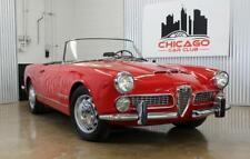 1960 Alfa Romeo 2000 Touring Spider