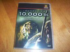JOURNEY TO 10,000 B.C. Prehistoric Survival Animals Caveman History Channel DVD