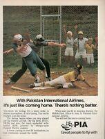 1980 Original Advertising' Pia Pakistan International Airlines Baseball Cap