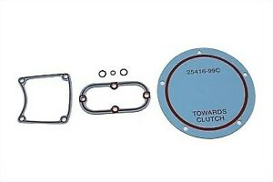 V-Twin Primary Service Gasket Kit 15-1507 for Harley Twin Cam Softail Dyna
