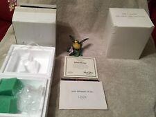 "Lenox-1994"" Yellow Warbler "" Fine Porcelain Mint Coa,Orig Box, Ship Box Rare"